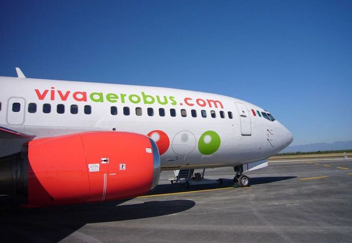 VivaAerobus opera la ruta Cuernavaca-Cancún. (Archivo/SIPSE)