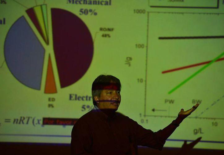Imagen del segundo Taller de Nanomateriales y Nanocompuestos, en el CICY. (Luis Pérez/SIPSE)