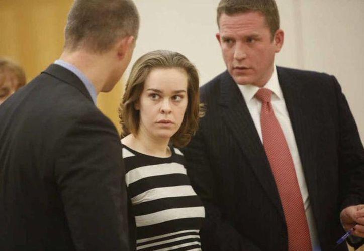 Lacey Spears durante una comparencia en la Corte del Condado de Westchester, el 11 de diciembre de 2014. (Ricky Flores/The Journal News)