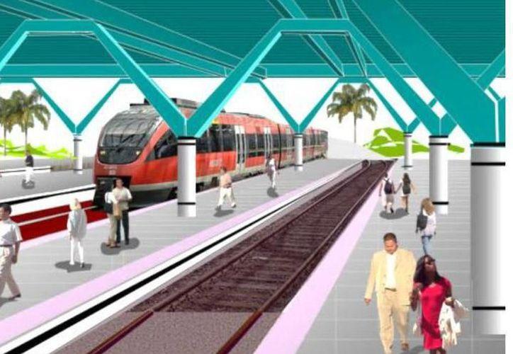 El tren maya representa una inversión superior a los 100 mil millones de pesos. (Archivo/Sipse)