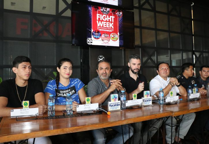 Los organizadores dieron pormenores de los enfrentamiento(Daniel Sandoval/Novedades Yucatán)