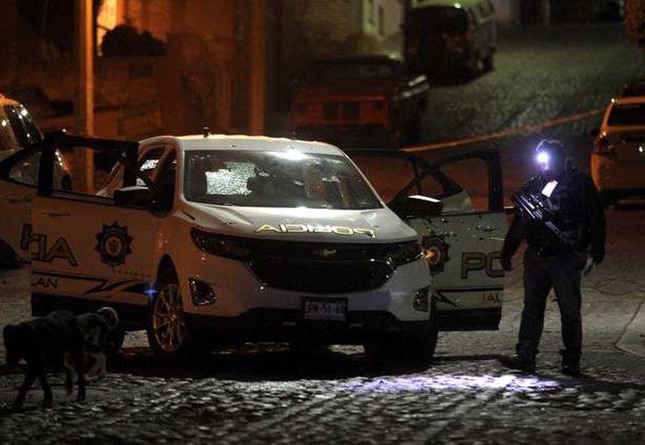 El tiroteo se registró en las calles 16 de septiembre y Rosalio González.  (AFP)