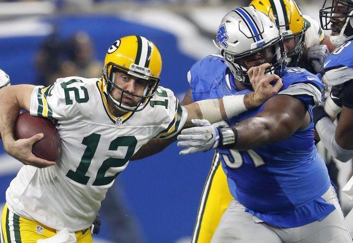 La Postemporada de la NFL quedó definida, luego de la victoria de Green Bay sobre Detroit, aunque al final ambos accedieron a los juegos de eliminación. (Paul Sancya/AP)