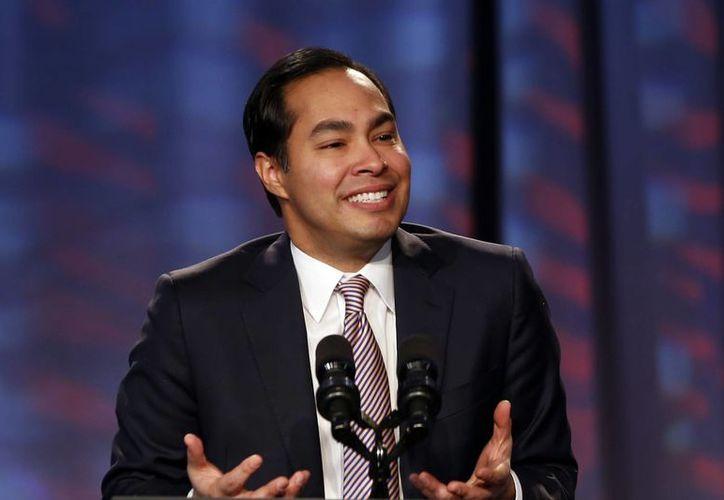 Castro, de 39 años, ocupará el cargo de secretario de Vivienda y Desarrollo si el Senado aprueba su nombramiento. (AP)