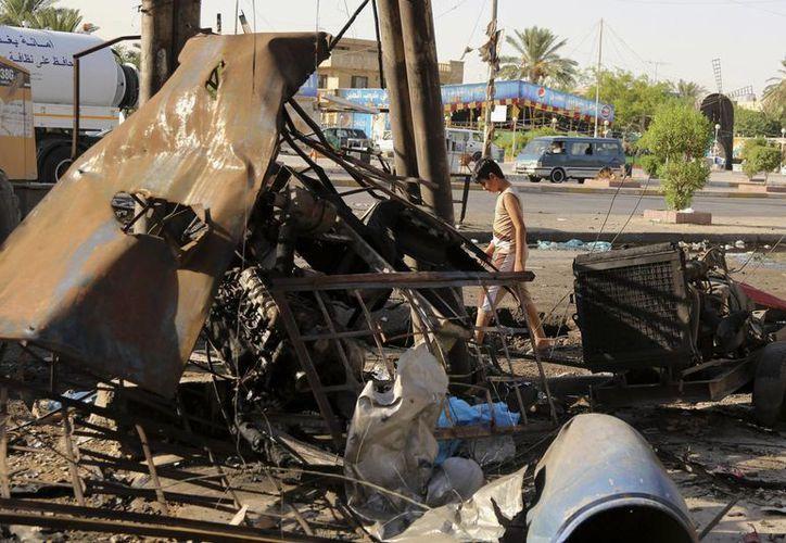 Estados Unidos enviará cientos de asesores militares que capacitarán a las fuerzas de Irak para enfrentar al violento Estado Islámico. (AP)