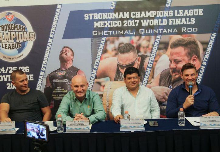 El evento fue presentado en conferencia de prensa en la ciudad capital. (Miguel Maldonado/SIPSE)