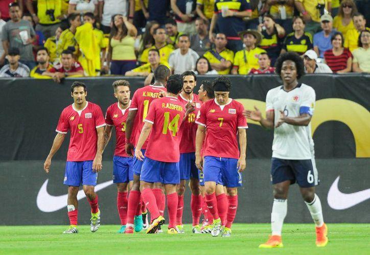 Costa Rica se despidió de la Copa América Centenario con una victoria de 3-2 ante sus similar colombiana. (Notimex)