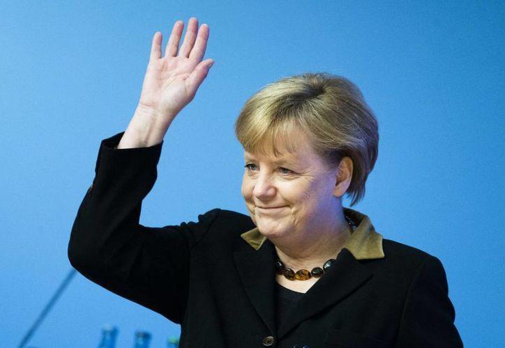 Merkel elegida entre un centenar de personas. (Agencias)