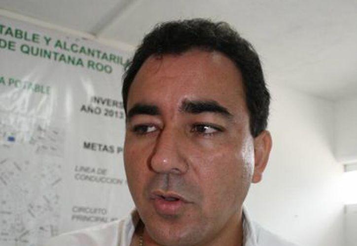 El directivo de CAPA dijo que la obra será de gran beneficio para los habitantes. (Rossy López/SIPSE)