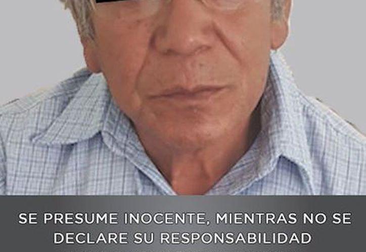 """Profesor acusado, identificado como Antonio """"N"""". (FGJEM)"""