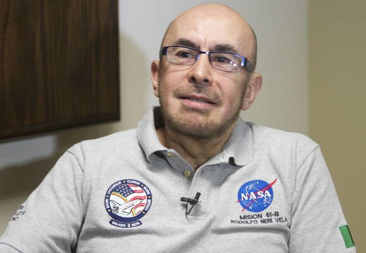 Rodolfo Neri Vela asegura que le preocupaba hacer un buen papel para México en la misión STS-61-B. (Notimex)