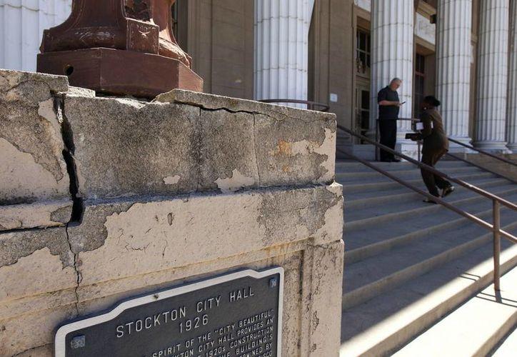 Un juez aceptó la solicitud de bancarrota de Stockton. (Agencias)