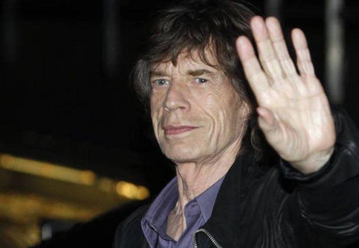 Los documentos difundidos sin autorización de la banda describían la condición de salud Jagger (Agencias)