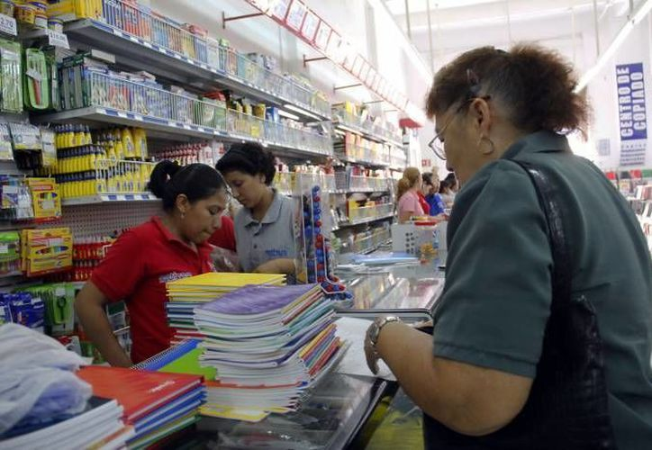 El regreso a clases cuesta como mínimo dos mil 800 pesos, señalan. (Archivo/SIPSE)
