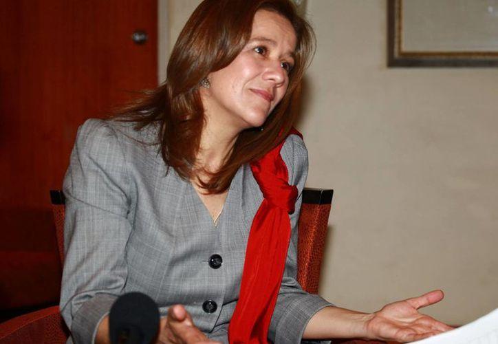 Margarita Zavala dijo que la prioridad de los panistas es ganar las elecciones del 7 de junio. (Foto de archivo/EFE)