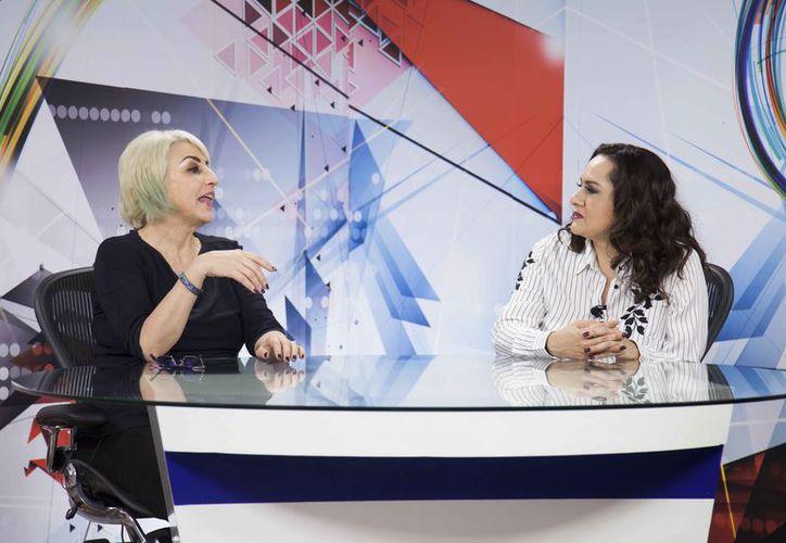 Fernanda Tapia estará acompañada por Arlenne Muñoz en el programa. (Redacción)