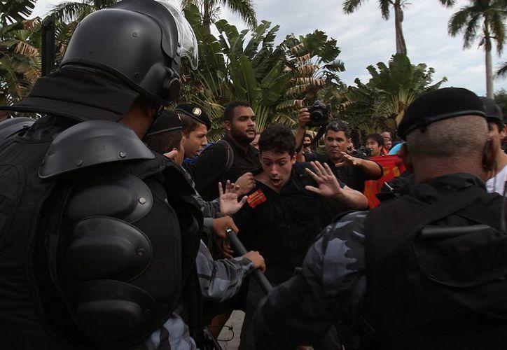 El elevado gasto para la organización del torneo despertó meses atrás la inconformidad de los brasileños. (EFE)