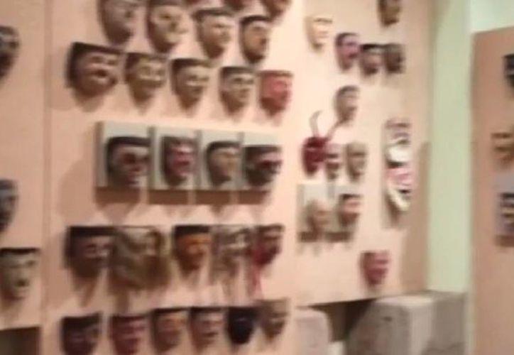 Son tantas las máscaras con las que cuenta el museo Rafael Coronel, que solo se exhibe una cuarta parte de ellas, es decir, 2 mil 300. (Captura de pantalla de YouTube)