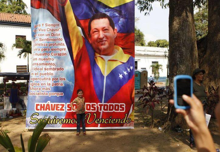 Hugo Chávez falleció el pasado martes 5 de marzo. (Agencias)