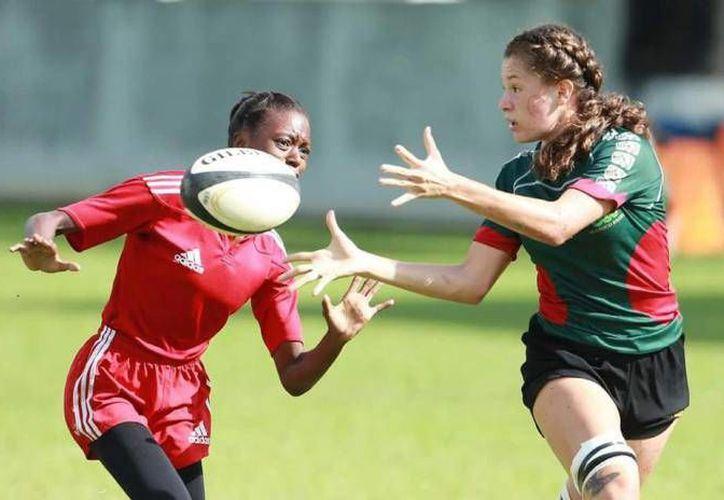 México ganó una medalla en la rama femenil en el Rugby Américas Norte Sevens. (deportedigital.mx)