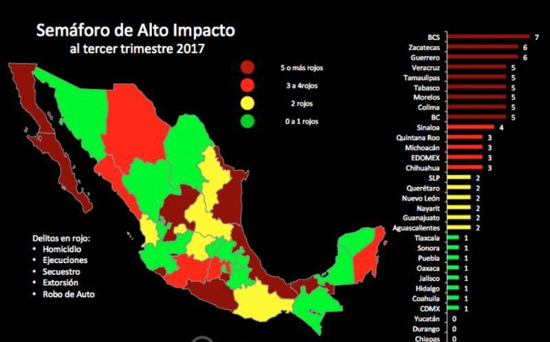 2017, el año más violento en la historia reciente de México