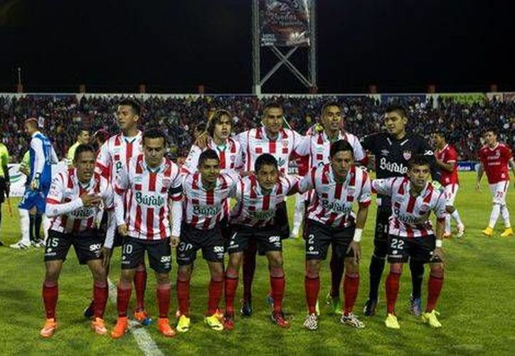 Rayos del Necaxa esperan a su rival en el torneo de Ascenso MX, que saldrá del duelo entre Coras de Tepic y Estudiantes Altamira. (mexsport.com)
