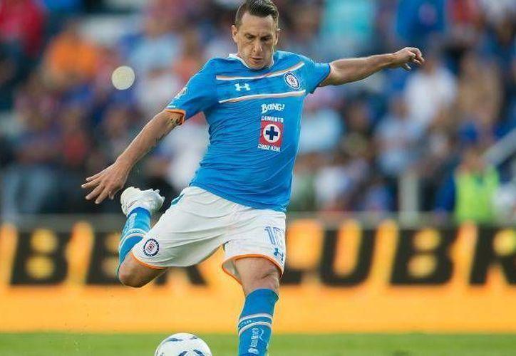 Christian 'Chaco' Giménez podría ver acción este fin de semana cuando el Cruz Azul enfrente a Veracruz en el Luis 'Pirata' Fuente. (Archivo Mexsport)
