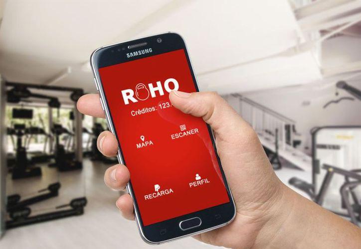 Roho, la app que por una mensualidad, permite tomar clases en diferentes gimnasios afiliados. (Web Adictos).