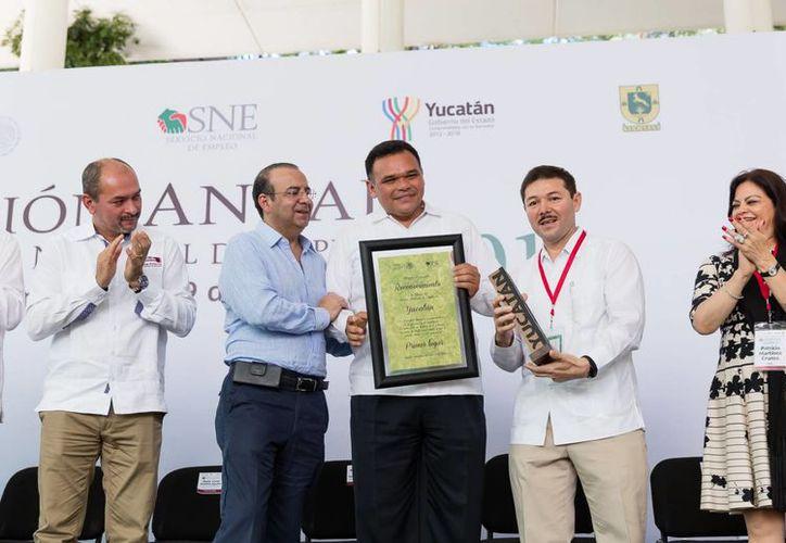 Por cuarta ocasión consecutiva, Yucatán es la entidad mejor evaluada por el Banco Interamericano de Desarrollo en cuanto a aplicación de programas de empleo. (Foto cortesía del Gobierno)