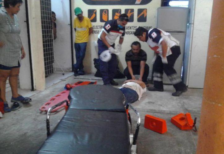 La Cruz Roja de Tulum ofrece servicios médicos a menor costo que las empresas privadas. (Sara Cauich/SIPSE)