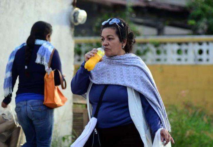 Se preve que el frente frío 11 se desplace al sureste y ocasione potencial de lluvias muy fuertes en Veracruz y en vasta zona del país. (SIPSE/Foto de archivo)