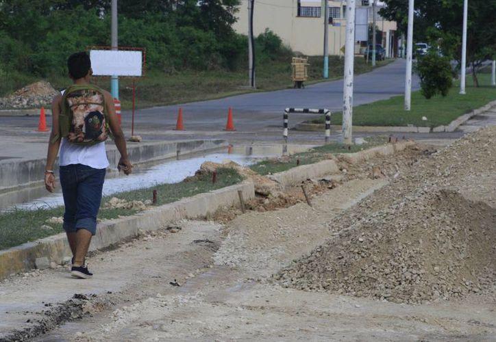 El recurso podría aplicarse para la atención de las calles de Chetumal. (Harold Alcocer/SIPSE)