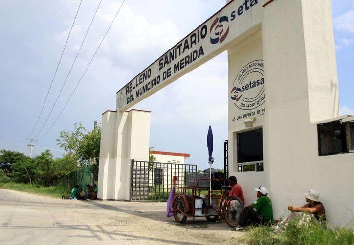 La planta de separación de residuos sólidos todavía no se encuentra lista. (Milenio Novedades)