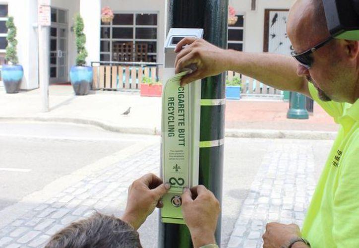 La empresa TerraCycle pagará a la ciudad de Nueva Orleans 4 dólares por cada 0.5 kg de colillas colectadas. (AP)