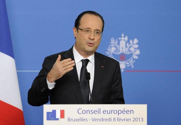 Hollande es conocido por su afición a las bromas. (EFE)