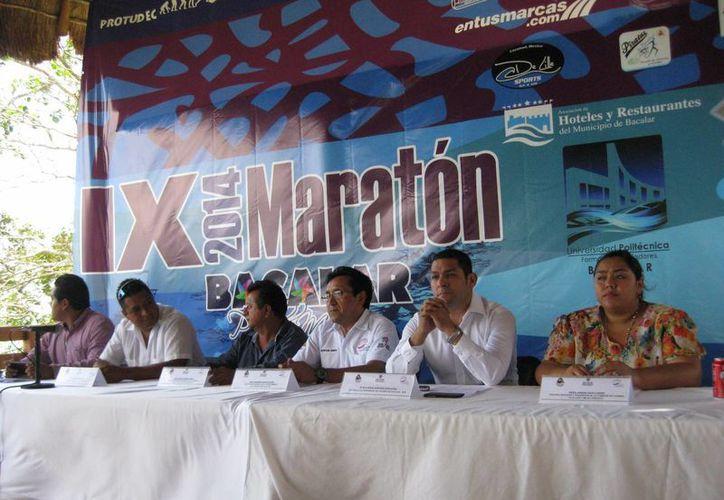 Se dio a conocer, en conferencia de prensa, que ya se inscribieron 500 competidores nacionales e internacionales. (Javier Ortiz/SIPSE)