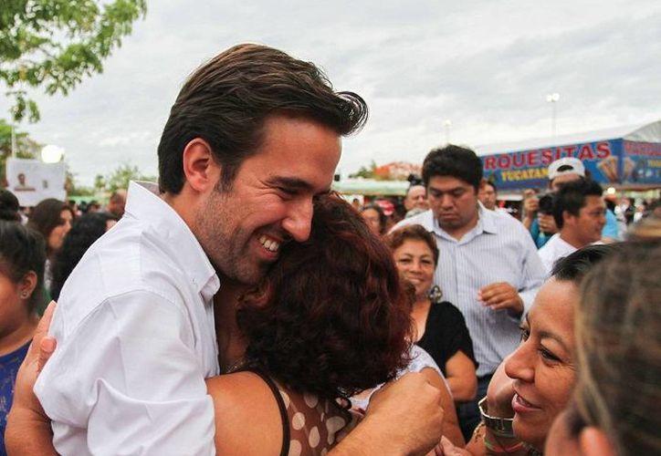 Pablo Gamboa, candidato del PRI a diputado por el IV Distrito federal de Mérida, agradeció las muestras de apoyo que recibió durante la campaña. (SIPSE)