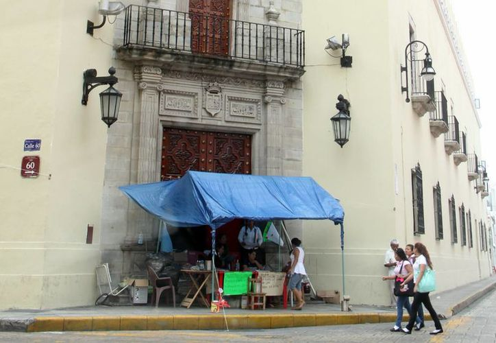 Este sábado la huelga en la Uady cumple 23 días. (José Acosta/SIPSE)