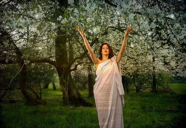 La religión Wikka celebra el inicio de la primavera con un ritual para atraer bendiciones (Foto: Internet)