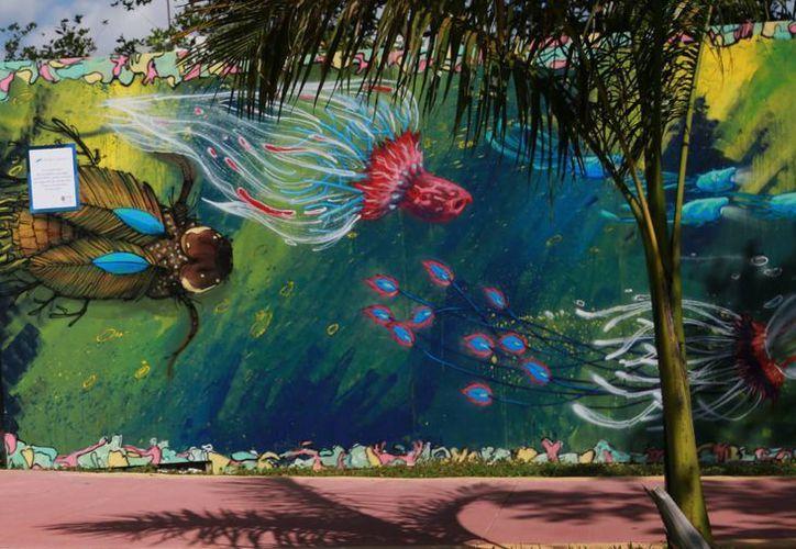 Andadores, avenidas y accesos de playa se convertirán en galería de arte. (Luis Soto/SIPSE)