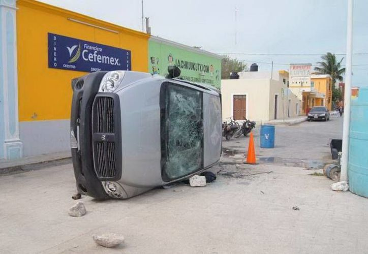 La semana pasada, un grupo de pepineros de Celestún agredió a inspectores de Conapesca. (SIPSE)