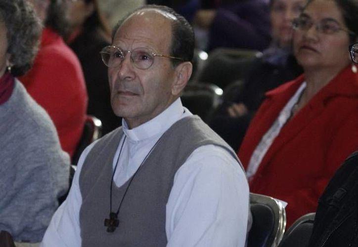 El padre Alejandro Solalinde dijo que el gobierno tiene la oportunidad de desmentirlo para demostrar que es un buen gobierno. (Foto de archivo de Notimex)