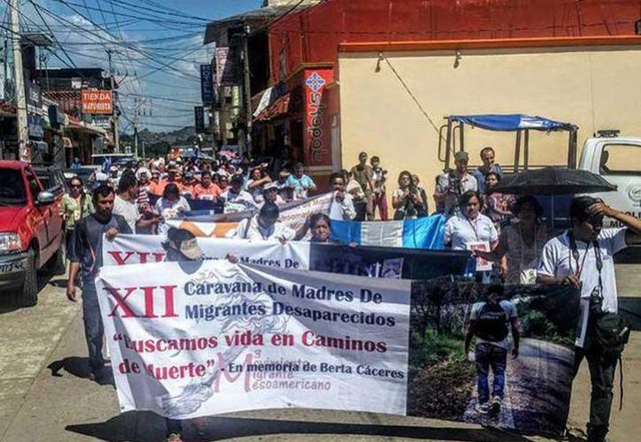 Las madres de migrantes desaparecidos prevén que su tránsito por México concluya el próximo 3 de diciembre de este mismo año. (Excelsior)