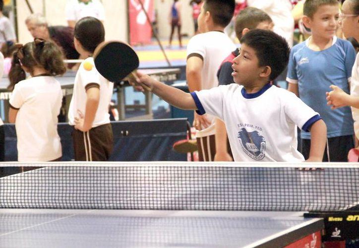 Tenis de mesa fue la disciplina que más deportistas aportó, con 60. (Jorge Acosta/Milenio Novedades)