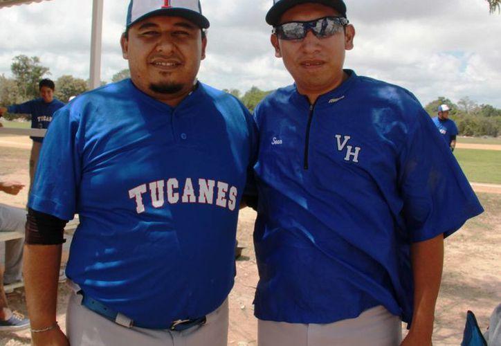 Los entrenadores de Tucanes del Tecnológico de Cancún, Jesús Poot y Gerardo Rivera confían en que lograrán buenos resultados con el equipo. (Raúl Caballero/SIPSE)