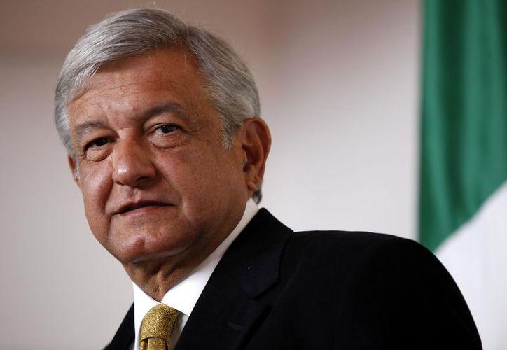 El líder de Morena, Andrés Manuel López Obrador, informó que el 29 de agosto irá a Estados Unidos. (Twitter).