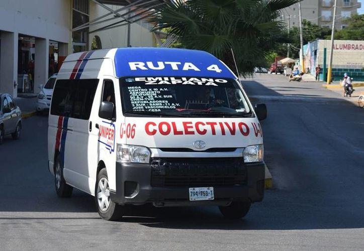Los colectivos de Uniper cuentan con aire acondicionado y WiFi. (Foto: Gustavo Villegas/SIPSE)