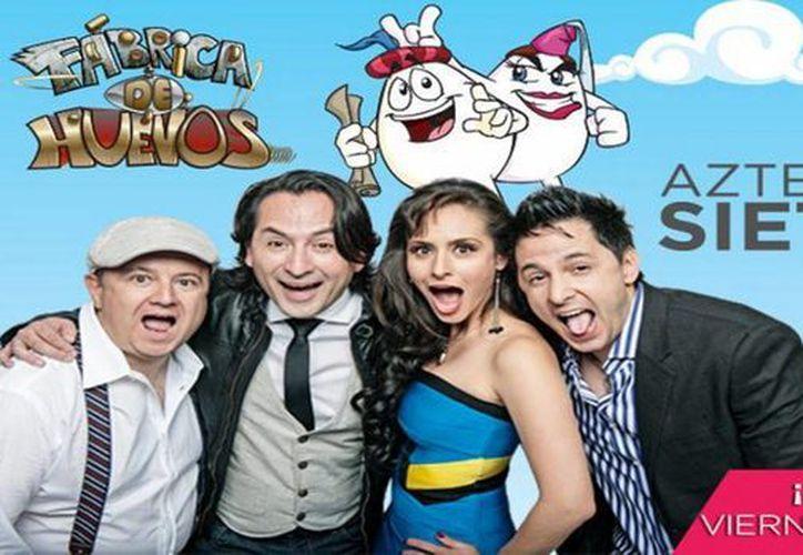 'Fábrica de Huevos' cuenta con el talento de Wendy Braga (c) y Fernando Meza (i). (huevocartoon.com)