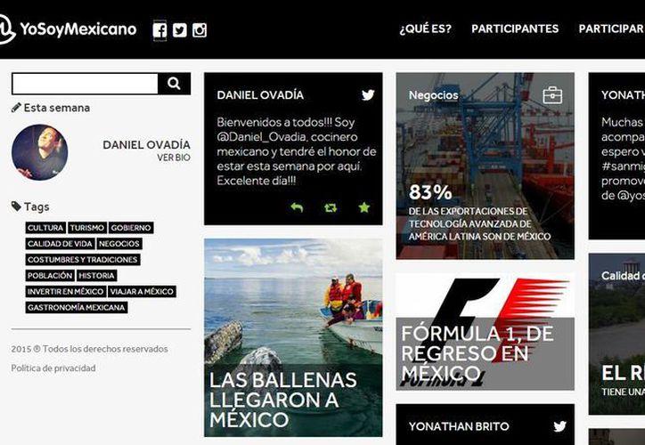 Cada semana, un ciudadano mexicano contará su historia en este nuevo portal. (yosoymexicano.mx)