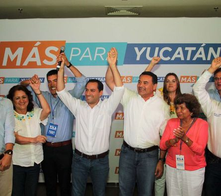 Mauricio Vila se declara ganador según encuesta de salida